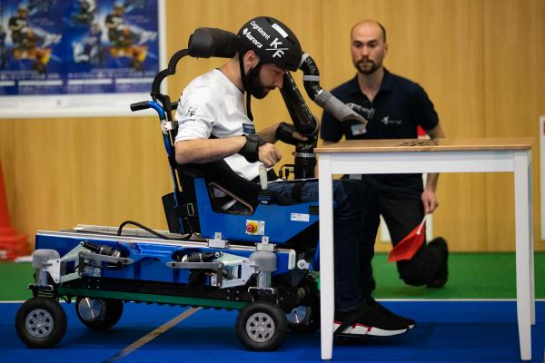 Table Challenge CYBATHLON Series 2019